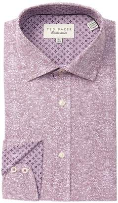 Ted Baker Paisley Print Trim Fit Shirt