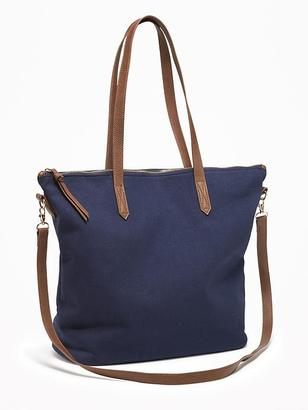 Canvas Zippered Tote for Women $24.94 thestylecure.com