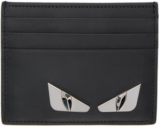 Fendi Black Monster Eyes Card Holder $250 thestylecure.com