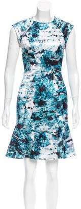 Yigal Azrouel Printed Mini Dress