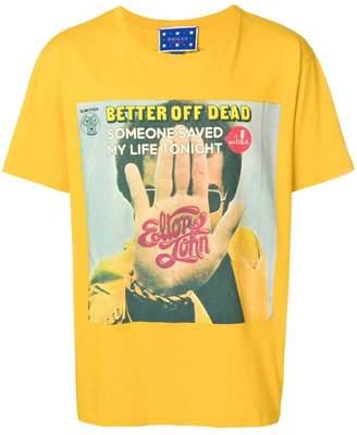 Gucci Elton John print T-shirt