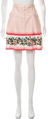 Philosophy di Alberta Ferretti Printed Mini Skirt