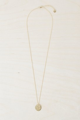 French Connenction Leo Zodiac Charm Necklace