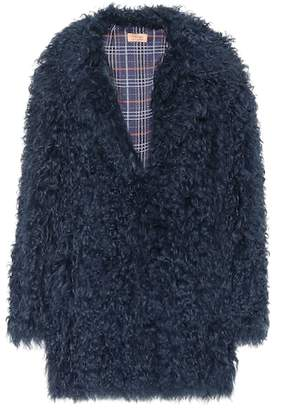 Yves Salomon Meteo Lamb fur coat