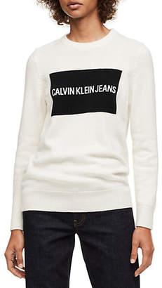 Calvin Klein Jeans Crewneck Logo Sweater