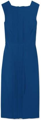 Jason Wu Pintucked Cady Dress - Cobalt blue