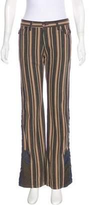 Anna Sui Mid-Rise Wide-Leg Pants