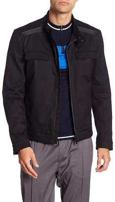 BOSS Stand Collar Jacket