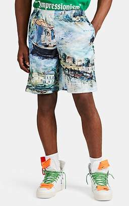 Off-White Men's Lake Mesh Shorts