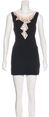 Chanel Embellished Mini Dress