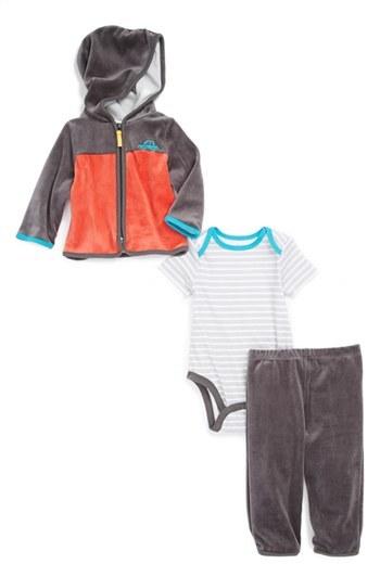 Offspring Jacket, Bodysuit & Pants (Baby Boys)