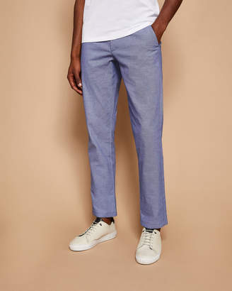 Ted Baker HOLLDEN Slim fit textured chinos