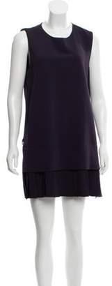 Victor Alfaro Sleeveless Shift Dress Plum Victor Alfaro Sleeveless Shift Dress