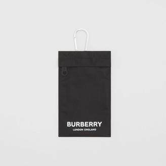 Burberry Logo Print Nylon Phone Case