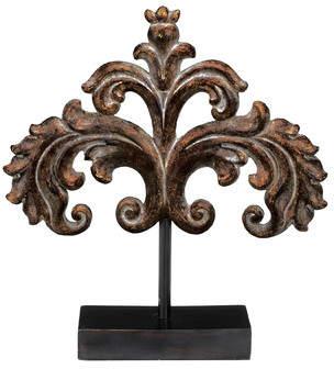 Astoria Grand Traditional Handmade Wood Finial Sculpture