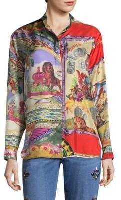 Etro Circus Silk Tunic