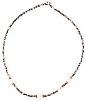 Lagos Pearl Caviar Luna Station Necklace