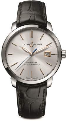 Ulysse Nardin Stainless Steel Classic Watch 40mm