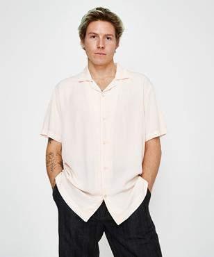 Insight The Reckoner Short Sleeve Shirt Peach