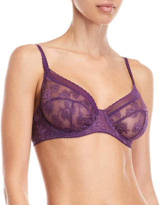 La Perla Studio Full Coverage Embroidered Unlined Bra