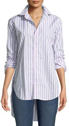 Frank And Eileen Grayson Striped Long-Sleeve Button-Down Shirt