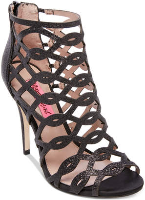 Betsey Johnson Judeth Caged Dress Sandals