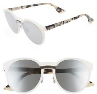 Christian Dior Onde 1 50mm Round Sunglasses