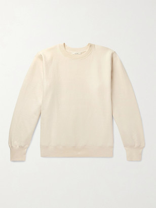 The Row George Loopback Cotton-Jersey Sweatshirt - Men - Cream