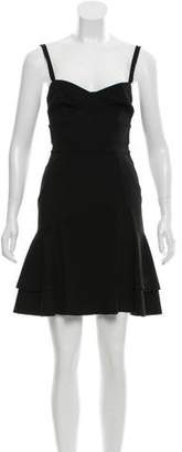 Temperley London Flared Sleeveless Dress