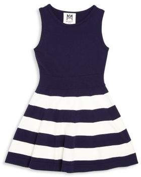 Milly Girl's Striped Fit & Flare Dress