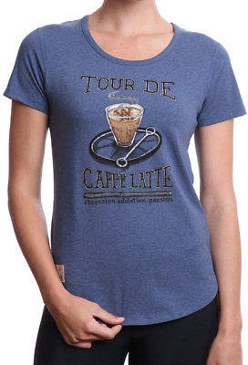 Caffe NEW Women's Tour de Latte Tee by Apres Velo