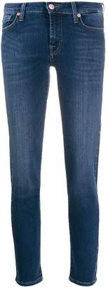 7 For All Mankind studded skinny jeans