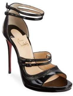 Christian Louboutin Sotto 120 Leather Sandals