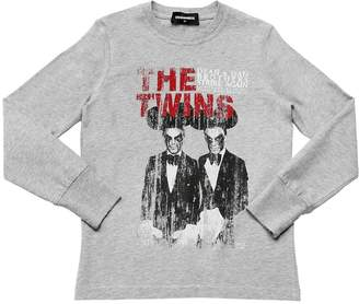 DSQUARED2 The Twins Jersey Long Sleeve T-Shirt