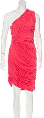 Halston Sleeveless Midi Dress