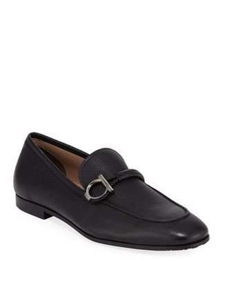 Salvatore Ferragamo Men's America Dress Calfskin Loafers