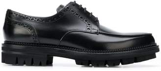DSQUARED2 perforated brogues