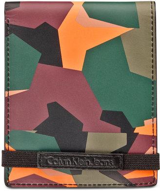 Calvin Klein Men's Camo Wallet $45 thestylecure.com