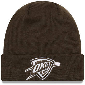 New Era Oklahoma City Thunder Fall Time Cuff Knit Hat