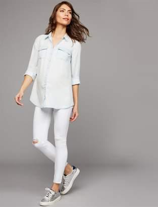AG Jeans Secret Fit Belly Farrah Skinny Ankle Maternity Jeans