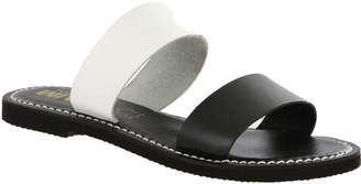 Mia Shoes Flat Slide Sandals - Nila