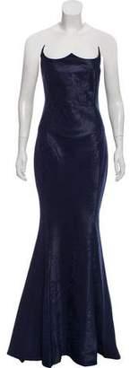 John Paul Ataker Strapless Lace Dress w/ Tags