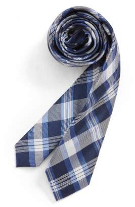 Nordstrom Plaid Silk Tie
