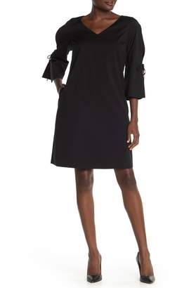 Lafayette 148 New York Riley 3/4 Sleeve Shift Dress