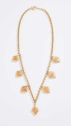 Chanel What Goes Around Comes Around Charm Necklace