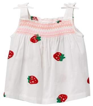 Design History Strawberry Top (Toddler & Little Girls)