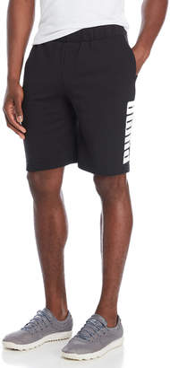 Puma Black French Terry Shorts