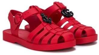 Gucci Kids closed toe sandals
