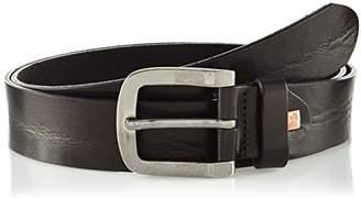 LINDENMANN The Art of Belt Mens leather belt/Mens belt, full grain leather belt, unisex,Farbe/Color:, Größe/Size: