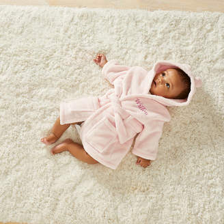 My 1st Years Personalised Embroidered Pink Fleece Baby Girls Robe
